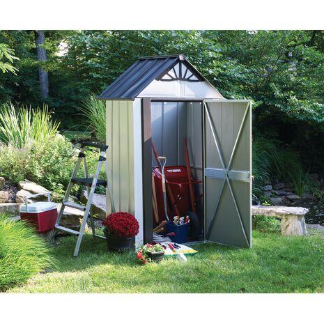 Designer series Αποθήκη κήπου metro 4x2 μεταλλική