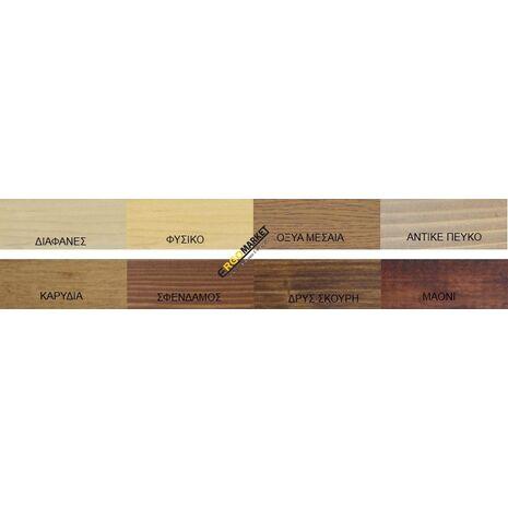 Θρεπτική πάστα χρωματισμού ξύλων με κερί LIBERON B.BISON 500ml
