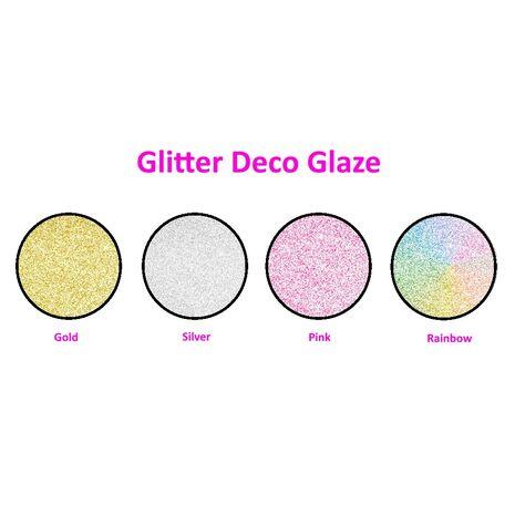 Γαλάκτωμα Glitter Deco Glaze ζωηρό γκλίτερ Pellachrom 1lt.