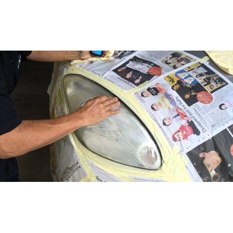 Σύστημα επιδιόρθωσης φαναριών 2 Βημάτων Meguiar's Perfect Clarity Headlight Restoration Kit