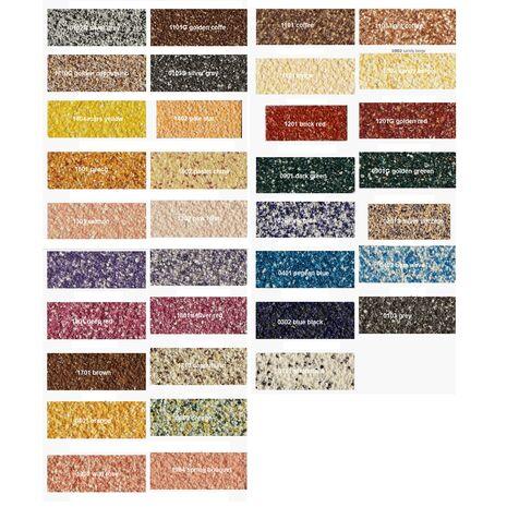Χρωματολογιο TERRA COAT Διακοσμητικό επίχρισμα.