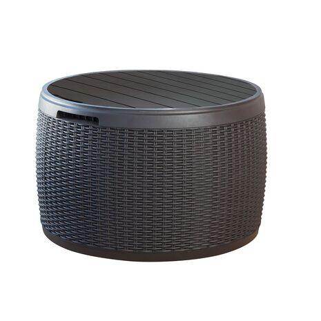 Circa Rattan Κουτί αποθήκευσης - Τραπέζι - Κάθισμα Keter 140 lt
