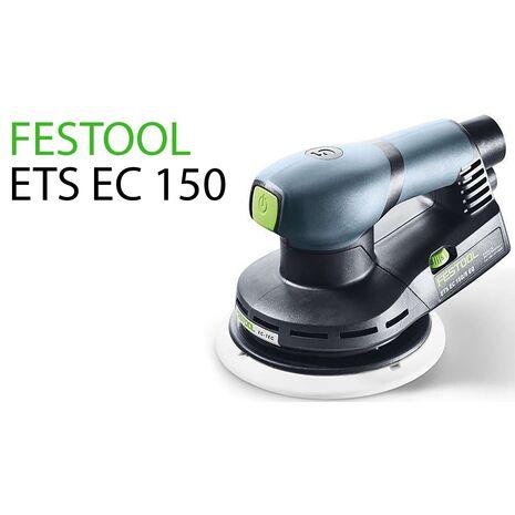 ETS EC 150/5 EQ Έκκεντρο τριβείο 3M FESTOOL 230V 150mm