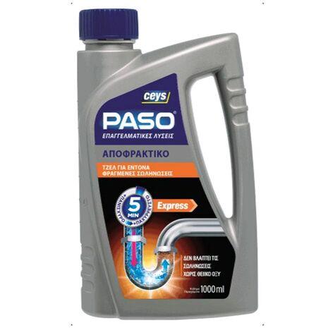 Ισχυρό αποφρακτικό τζελ Ceys Paso 1000ml