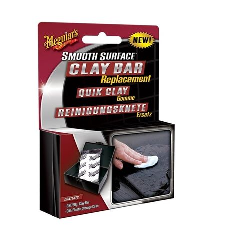 Smooth Surface Replacement Clay Bar Μπάρα Πήλου Meguiar's 50gr