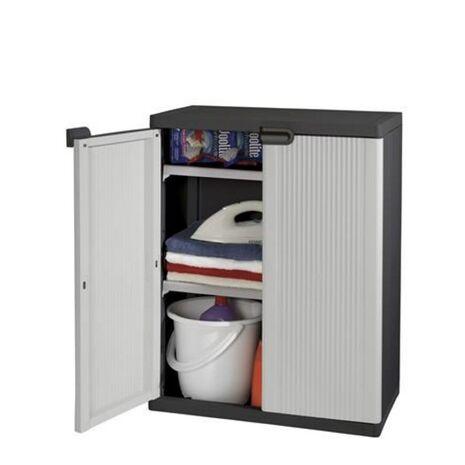 Smarty Base Πλαστική ντουλάπα χαμηλή με 2 ράφια KETER