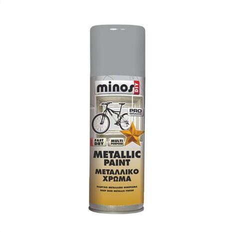 Μεταλλικό χρώμα σε σπρέι Minos Metallic paint 300ml