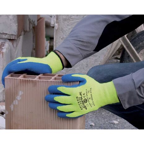 Bricker Γάντια εργασίας με επικάλυψη latex Cofra