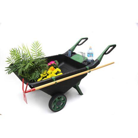 Καρότσι κήπου πλαστικό WB80 BAX TOOLS 80Lit