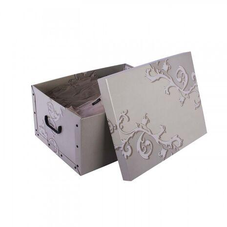 Κουτί αποθήκευσης χάρτινο Baroque 25Lt 870582