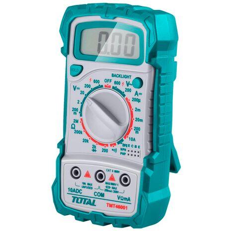 Πολύμετρο ψηφιακό TMT46001 Total