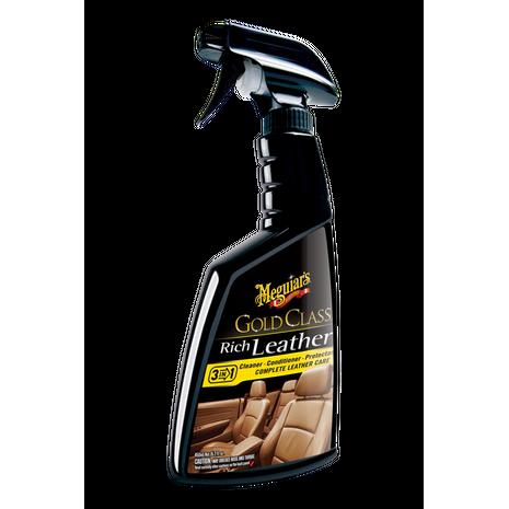 Σπρέι περιποίησης δερμάτων αυτοκινήτου Rich Leather Cleaner / Conditioner Meguiar's 450ml