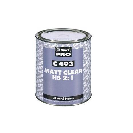 Βερνίκι Ματτ 493 Autoclear (2:1) CM-HS Mat Clear HB BODY1LT