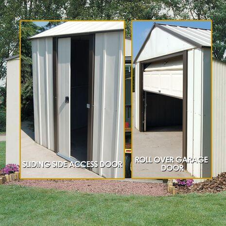 Designer series Αποθήκη κήπου μεταλλική Arrow 10×8