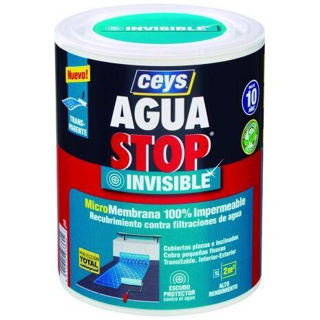 Αδιαβροχοποιητικό ματ για πορώδεις επιφάνειες Aguastop Invisible Ceys 1L