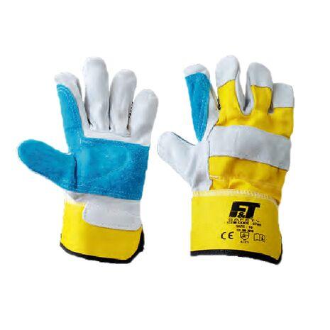 Δερμάτινα γάντια εργασίας 0788 F&T Safety