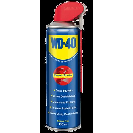 WD-40 Smartstraw Αντισκωριακό λιπαντικό σπρέι πολλαπλών χρήσεων 450ml
