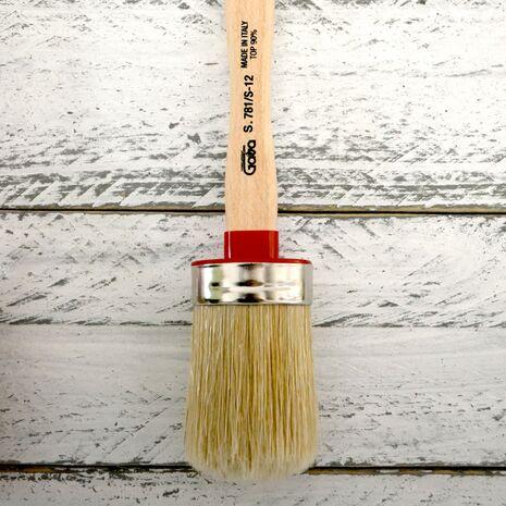 Πινέλο οβαλ για χρώμα κιμωλίας Chalk Paint Gava