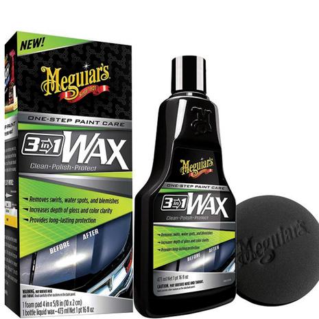 Κερί αυτοκινήτου 3-in-1 Wax G191016 Meguiar's 473ml
