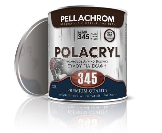 Βερνίκι θαλάσσης πολυουρεθανικό για ξύλο POLACRYL 345
