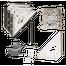 Κιτ στήριξης μεταλλικής αποθήκης σε μπετό Ak100 Arroww