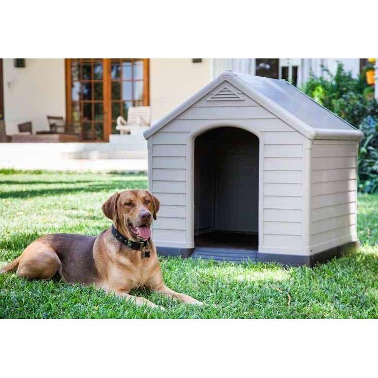 a61512c63517 Κήπος    Σπιτάκια σκύλου πλαστικά    Σκυλόσπιτο KETER