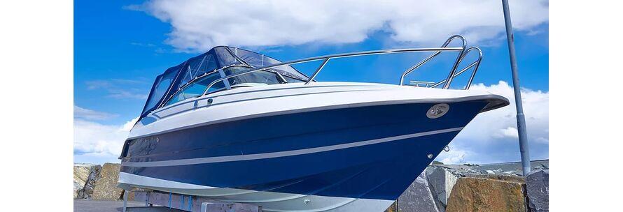 Εξασφαλίζοντας άψογο φινίρισμα στο σκάφος.!