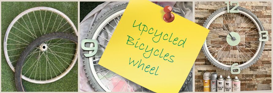 Πως να μετατρέψετε μια ρόδα ποδηλάτου σε Ρολόι Τοίχου